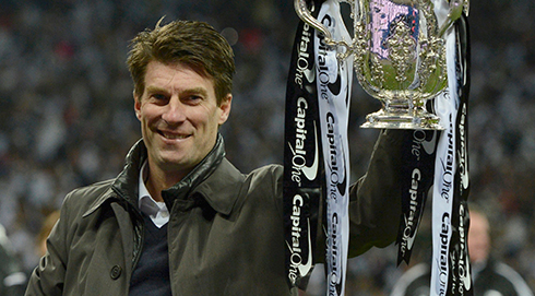 Michael Laudrup's Pride At Swansea Winning Capital One Cup