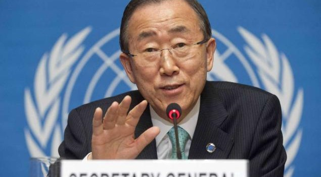 Ban Ki Moon Meets With Nigeria Governors In Abuja August 23
