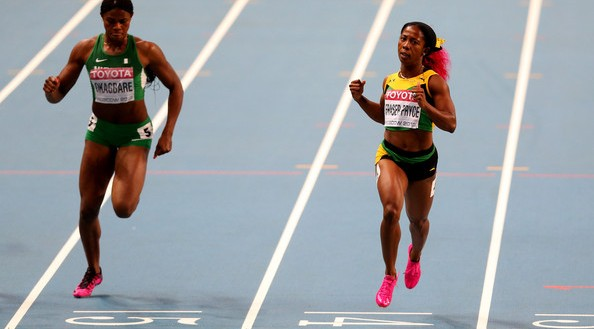 Okagbare Lose Out As Fraser-Pryce Shine
