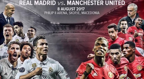 UEFA Super Cup: Ronaldo, Bale in Real squad to face United