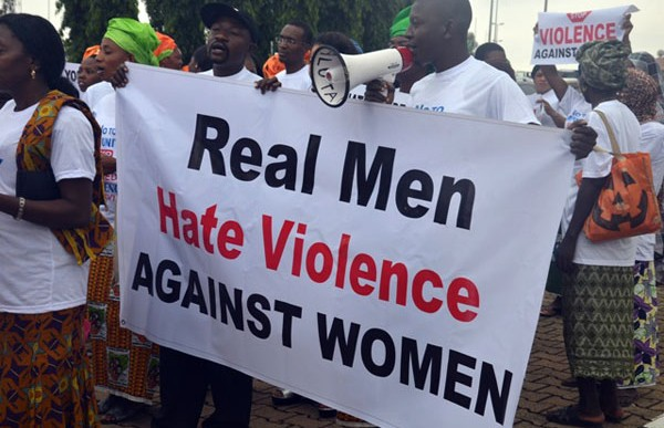 Group frowns at violence against women