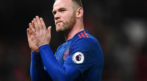 Wayne Rooney prepares to leave Man U