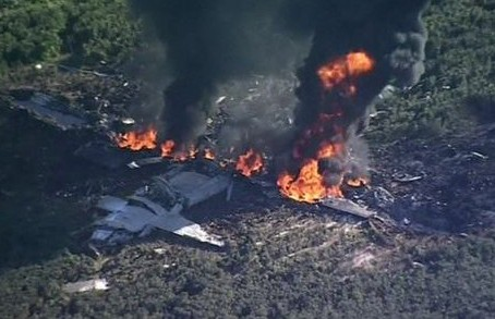 Military plane crash kills at least 16 in Mississippi
