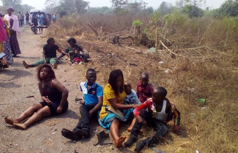 Six escape death after auto crash in Ibadan
