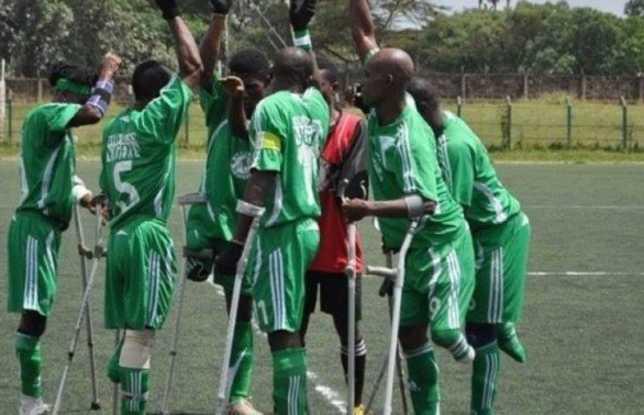 Nigeria amputee football team wins first World Cup match