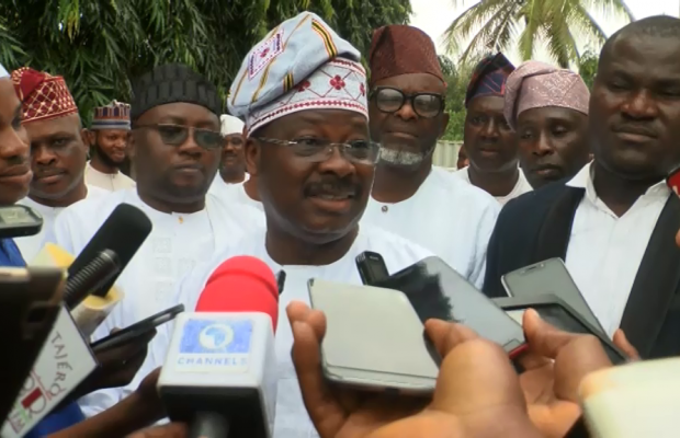 Ajimobi defends aides over govt vehicles
