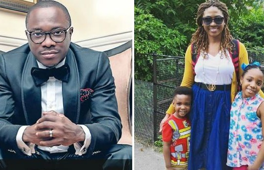 Julius Agwu gushes about his family (Photo)