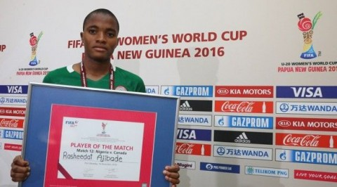 FIFA names Nigeria's Ajibade as player to watch