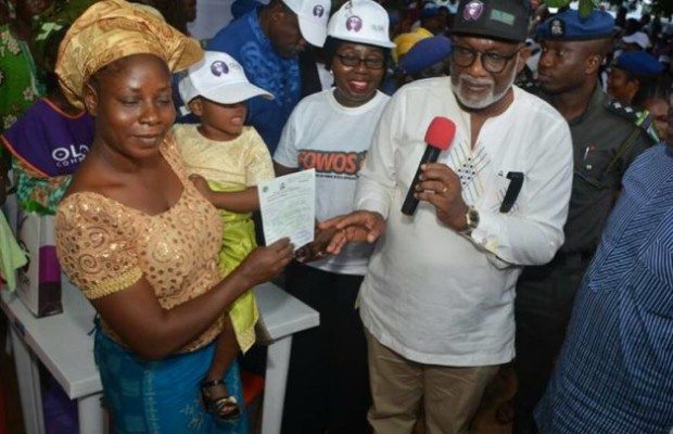 Akeredolu flags off accelerated birth registration