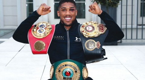 Anthony Joshua sends warning to Joseph Parker