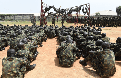 Army Recruitment: Nigeria Army New Recruits to Undergo Special Forces Training.