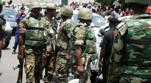 Army clean-up Delta market