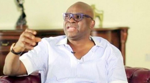 Fayose declares intention for 2019 Presidency