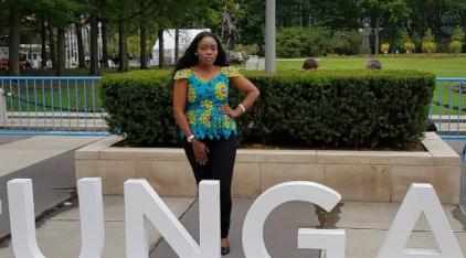 Bisola at the 72nd UN General Assembly in New York (Photos)