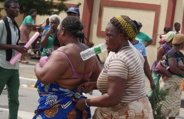 Market women storm Delta Assembly over invasion