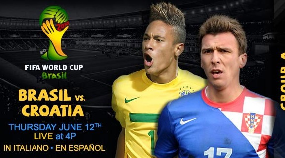 Brazil vs Croatia at Anfield in World Cup warm up in June