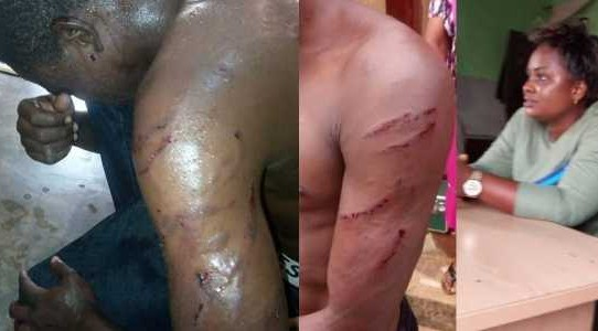 Woman orders thugs to brutalize gateman