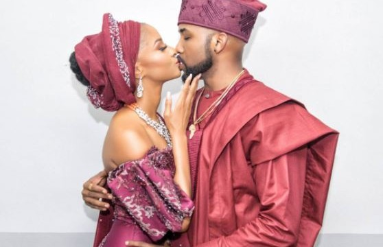 Come and marry me, Adesua reminds Banky W