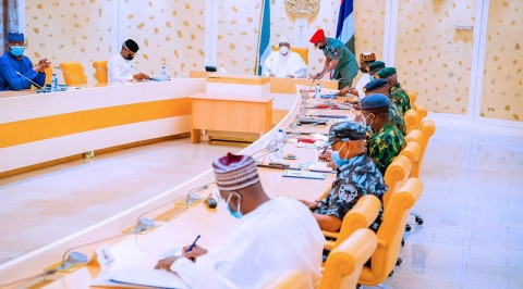 Buhari, Heads of Security Agencies, Service Chief Hold Security Meeting