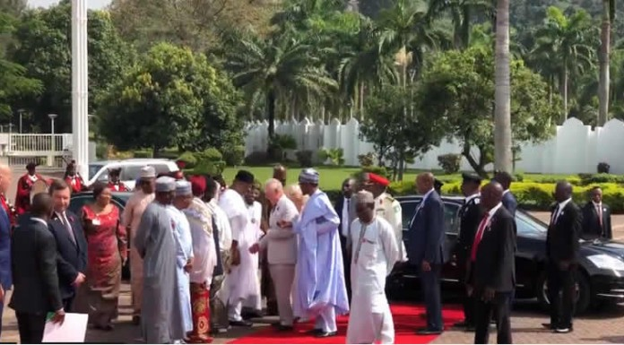 Buhari receives Prince Charles and wife