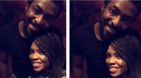 Singer Chidinma celebrates boyfriend (Photo)