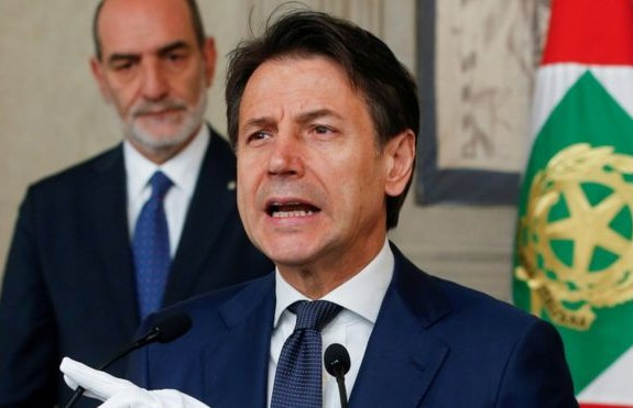 Conte vows united Italy as salvini leaves power