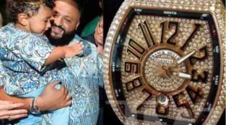 DJ Khaled gifts 1-year-old son a N36m diamond watch