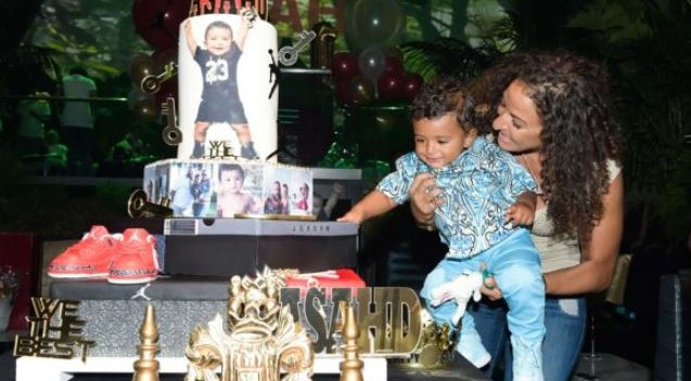 Photos: DJ Khaled celebrates son's first birthday