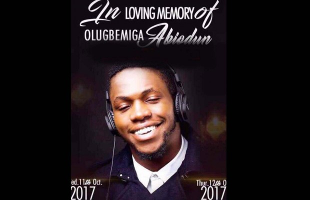 DJ Olu to be buried tomorrow at Ikoyi Vault