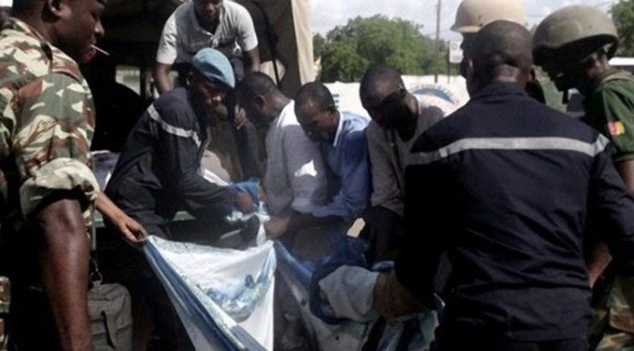 Suicide bombers kill selves, six others injured