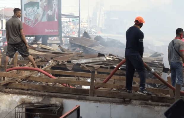 Fire Guts Multi-Million Naira Market in Delta
