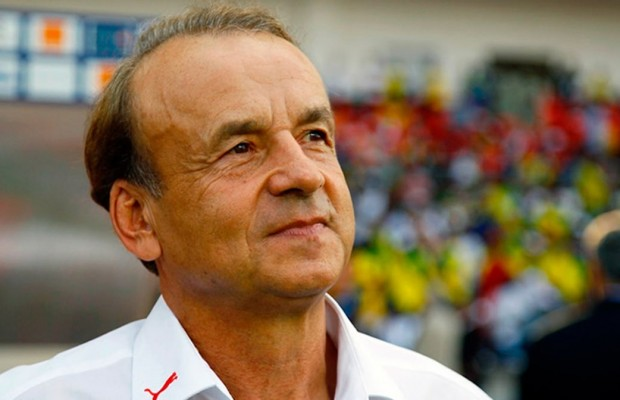 Rohr blames poor pitches at AFCON 2017