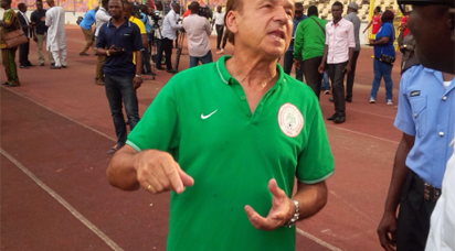 Eagles'll beat Lions for Ikeme — Rohr