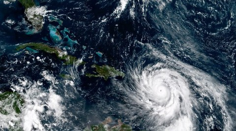 Hurricane maria to hit Carribean