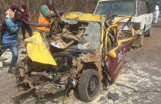 Four killed in multiple road accident
