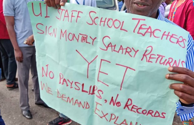 UI Non Academic Staff Commence Indefinite Strike.