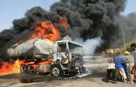 One dead as tanker explodes in Ibadan