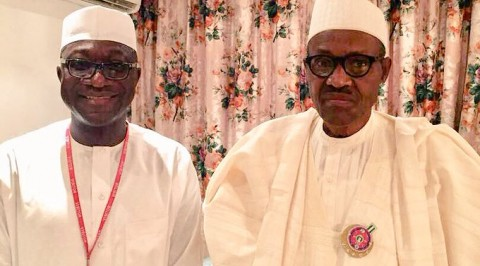Buhari, Jibrin meet in Aso Rock