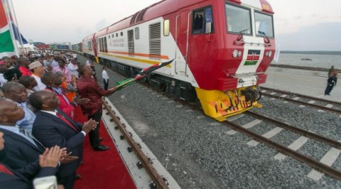 Kenya unveils $13.8 billion cargo train