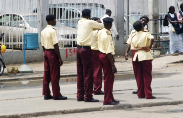 Tricycle riders attack LASTMA official in Ikeja (Photos)