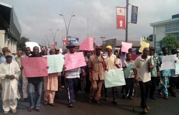 LG appointees protest in Bayelsa