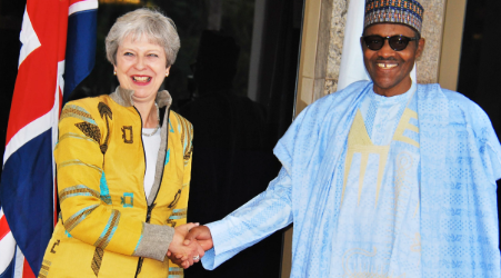 I'm for free, fair 2019 elections- Buhari tells Theresa May