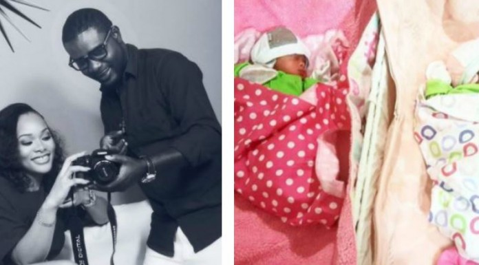 AY's brother, Lanre Makun welcomes twins