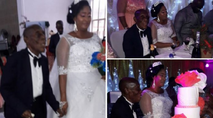 There is no limitation in age, 87-year-old speaks on his wedding