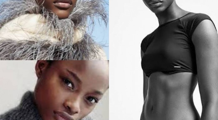 Nigerian model takes face of Calvin Klein's underwear