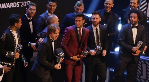2017 FIFA football awards (Photos)