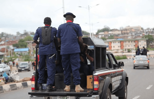NSCDC arrest 5 illegal miners in Iseyin