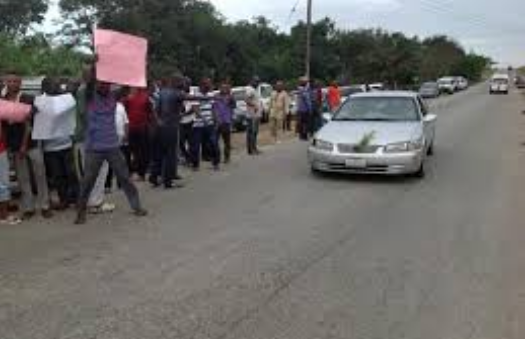 Transport workers protest in Ekiti