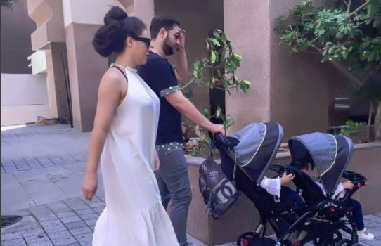 Nadia Buari shares a glance of baby daddy's face