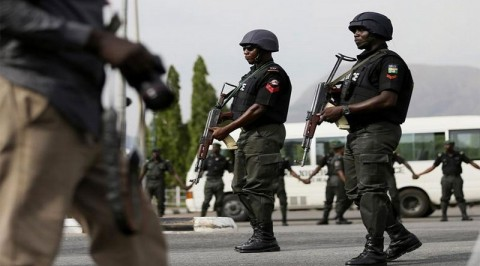 Police display surrendered arms in Bayelsa